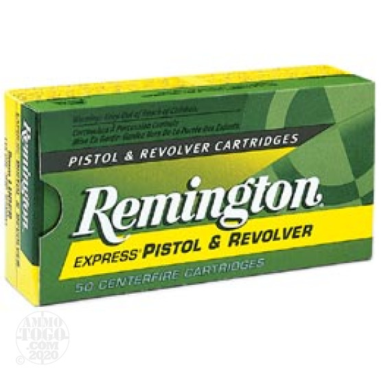 50rds - 357 Mag Remington 158gr. Hollow Point Ammo