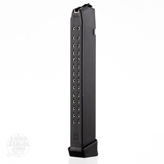 1 - Factory New Glock 17/19/26/34 Magazine 9mm 33rd.