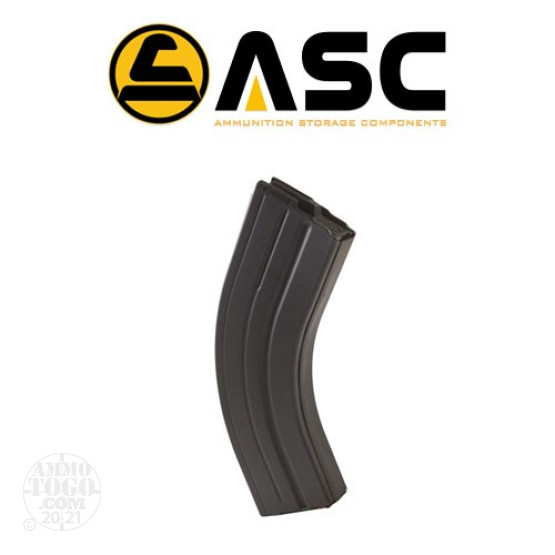 1 - ASC AR-15 7.62X39 Stainless Steel 30rd. Magazine Black Color