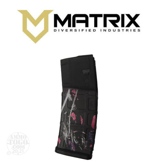 1 - Matrix Diversified With Magpul PMAG P30 AR15 Muddy Girl 30rd. Magazine