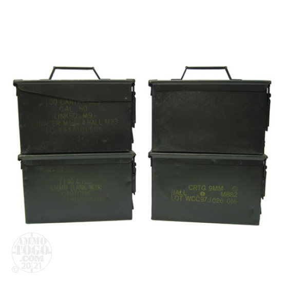 1 - USGI 50cal. Ammo Can - Fair Condition