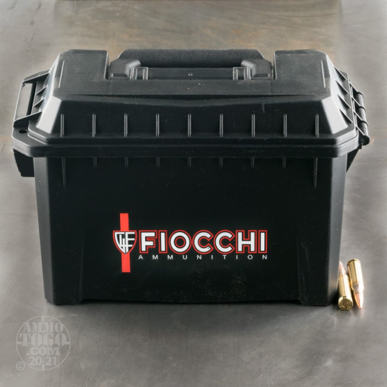 180rds - 308 Win Fiocchi 150gr. FMJ Ammo (In Ammo Can)