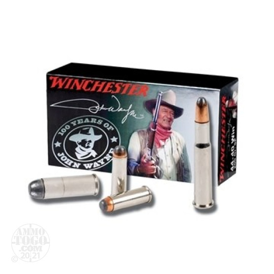 50rds - 45 Long Colt Winchester John Wayne Commemorative Ammo