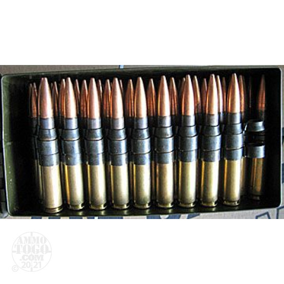 100rds - 50 Cal. BMG Original US Military M33 Ball Ammo