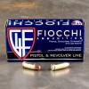 Fiocchi 9mm FMJ subsonic ammo for sale