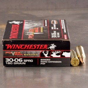 20rds - 30-06 Winchester Power Max Bonded 180gr. HP Ammo