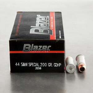 1000rds – 44 Special Blazer 200gr. Gold Dot JHP Ammo