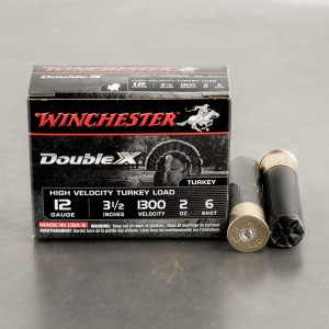 "10rds - 12 Gauge Winchester Supreme 3 1/2""  2oz.  #6 Turkey Load"