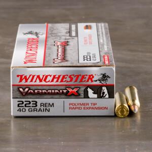20rds - 223 Winchester Varmint-X 40gr. Polymer Tip Ammo