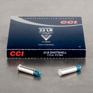 20rds - .22LR CCI #12 Shot Shotshells