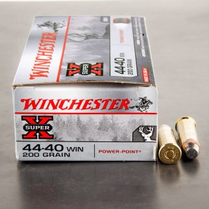 50rds - 44-40 Winchester 200gr. Super-X Soft Point