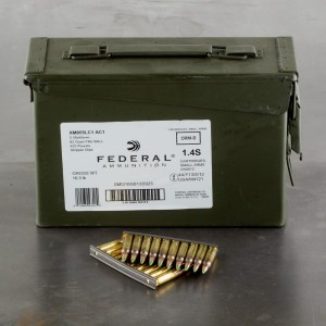420rds - 5.56 Federal Lake City XM855LC AC1 62gr. FMJ Penetrator Ammo on strippers