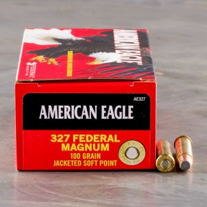 50rds - 327 Federal Magnum Federal American Eagle 100gr. Soft Point Ammo