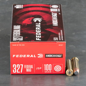 50rds - 327 Federal Magnum Federal American Eagle 100gr. Soft Point Ammo
