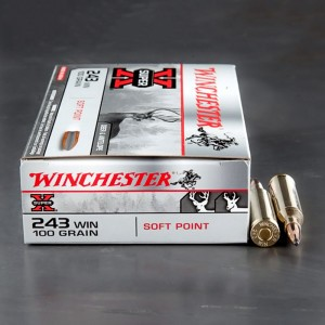 20rds - 243 Winchester Super-X 100gr. Power Point Soft Point Ammo