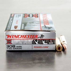 20rds - 308 Winchester Super X Power Core 150gr. LF HP Ammo