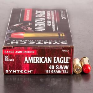 50rds – 40 S&W Federal Syntech 165gr. TSJ Ammo