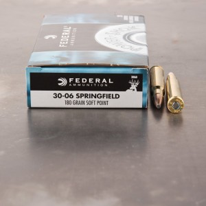 20rds - 30-06 Federal Power-Shok 180gr. SP Ammo
