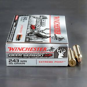 20rds - 243 Winchester Deer Season XP 95gr Polymer Tipped Ammo