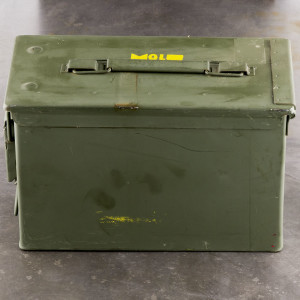15rds – 8mm Mauser Yugo Military M-49 198gr. FMJ Ammo in Ammo Can