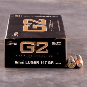 50rds – 9mm Speer LE Gold Dot G2 147gr. JHP Ammo