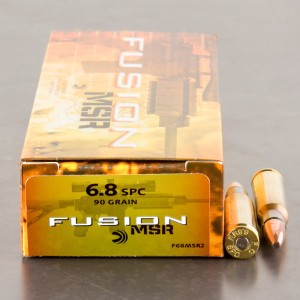 20rds - 6.8 SPC Federal Fusion 90gr. Fusion Ammo
