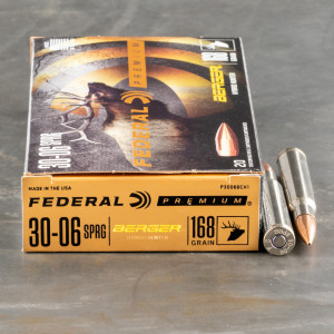 Federal Berger Hybrid 30-06 ammo for sale
