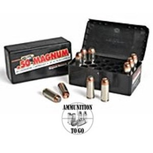 20rds - 50 AE Magnum Research 300gr. JHP Ammo