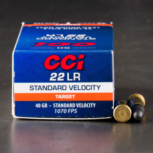 500rds – 22 LR CCI Standard Velocity 40gr. LRN Ammo
