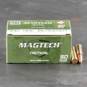 50rds – 300 AAC Blackout Magtech First Defense 115gr. OTM Ammo
