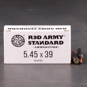 1000rds – 5.45x39 Red Army Standard 60gr. FMJ Ammo