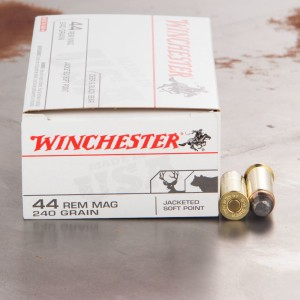 500rds – 44 Mag Winchester 240gr. JSP Ammo