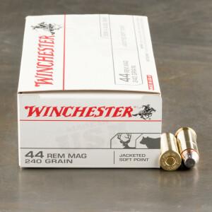 500rds – 44 Mag Winchester 240gr. JSP Ammo