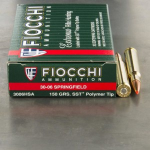 200rds - 30-06 Fiocchi Extrema Hunting 150gr. SST Ammo
