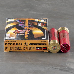 "5rds – 12 Gauge Federal 3rd Degree 3-1/2"" 2oz. #5/6/7 Shot Ammo"