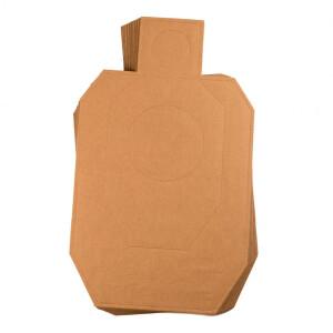100 - Target Barn IDPA Silhouette Cardboard Targets