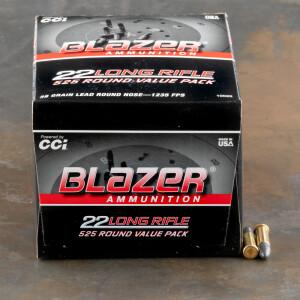 5250rds – 22 LR Blazer 38gr. LRN Ammo