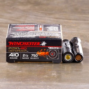 "10rds - .410 Gauge Winchester Supreme Elite 2 1/2"" PDX1 Self Defense Ammo"