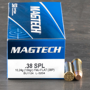 1000rds – 38 Special Magtech 158gr. FMJ Ammo