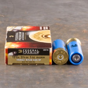 250rds - 12 Gauge Federal LE Tact Full Power TRUBALL Rifled Slug