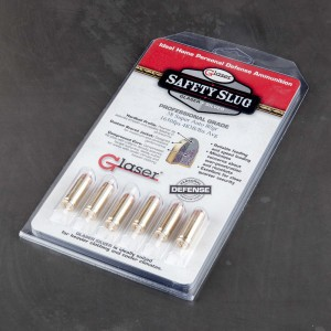 6rds - 38 Super Auto Glaser Silver Safety Slug 80gr. Ammo