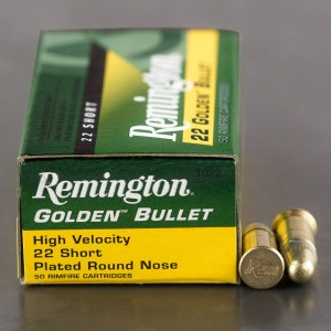 500rds - 22 Short Remington 29gr. High Velocity Solid Point Ammo
