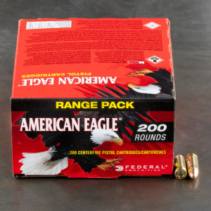 1000rds – 9mm Federal American Eagle 115gr FMJ Ammo