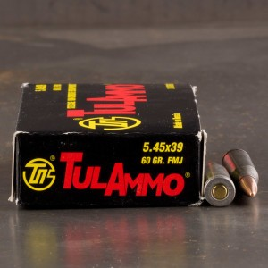 5.45x39 - 60 Grain FMJ - Tula - 1000 Rounds