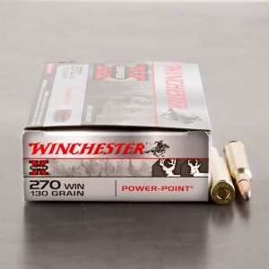 20rds - 270 Winchester 130gr. Super-X Power-Point Ammo
