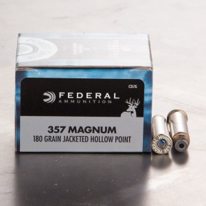 20rds - 357 Mag Federal 180gr. Power-Shok JHP Ammo
