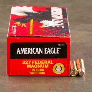 50rds - 327 Federal Magnum Federal American Eagle 85gr. Soft Point Ammo