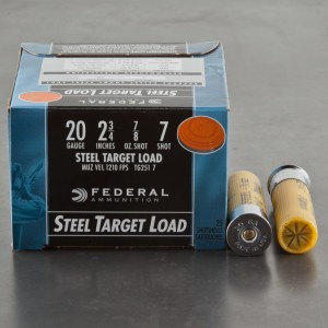 "25rds - 20 Gauge Federal Top Gun 2-3/4"" 7/8 oz. #7 Shot Ammo"