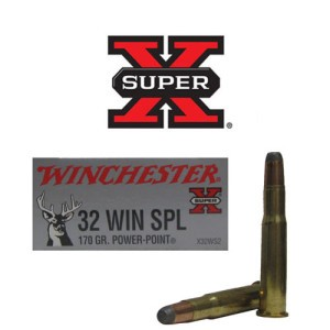 20rds - 32 Win. Special Winchester 170gr. Power Point Ammo