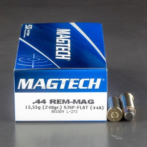 1000rds - 44 Mag Fiocchi 240gr Jacketed Soft Point Ammo